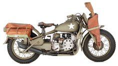 retro world war bike