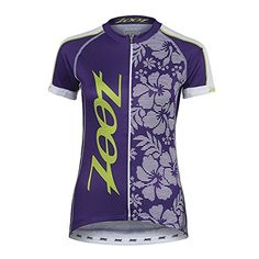ZOOT SPORTS Womens Cycle Team Jersey Large Purple HazeSpring Green ** Click on the image for additional details.(This is an Amazon affiliate link and I receive a commission for the sales)