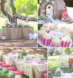 Woodland Fairy Party via Kara's Party Ideas