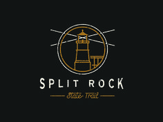 ArtCrank Poster Progress - Split Rock Lighthouse 2 by Sean Ryan Cooley