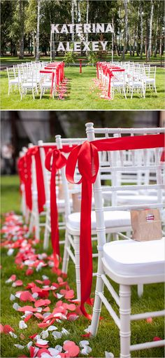 Red and White Retro Wedding. Captured By: Polina Kholodova Photography… Red Rose Petals, Red Roses, Red Wedding, Wedding Flowers, Wedding Ideas, Wedding Signs, Wedding Photos, Pink Bachelorette Party, Red And White Weddings