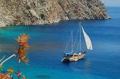 Sailing in Symi Island, beautiful. Beautiful Islands, Beautiful Places, Turkey Photos, Marmaris, North Africa, Ancient Greece, Greece Travel, Greek Islands, Vacation Spots