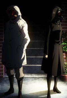 Tokyo Ghoul | Koma (Devil Ape) & Irimi (Black Dog)