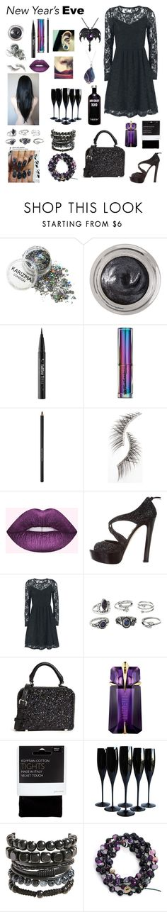 """Untitled #1110"" by banasheeanni ❤ liked on Polyvore featuring Estée Lauder, Kat Von D, Urban Decay, Lancôme, Beauty Is Life, Miu Miu, Charlotte Russe, Rebecca Minkoff, Thierry Mugler and John Lewis"