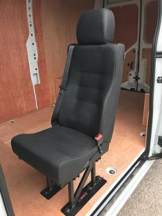 Van Seat Conversions available at Mobile Solutions, Derby East Midlands Van Racking, Derby, Chair, Furniture, Home Decor, Decoration Home, Room Decor, Home Furnishings, Stool