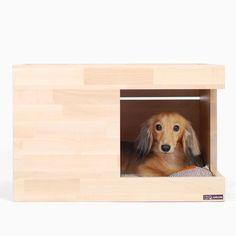 반려동물 원목 디자인가구 밀리큐브입니다.[원목캣타워/강아지집/고양이식탁/강아지식탁등] Pet Beds, Dog Bed, Dog Habitat, Dog Cave, Pet Hotel, Dog Furniture, Pet Life, Animal House, Dog Houses