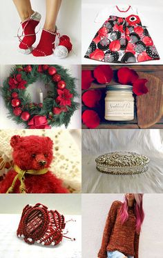 Festive Gifts by kikisan on Etsy--Pinned with TreasuryPin.com
