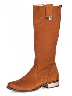 Čižmy z pravej kože EMA pliešok hnedá nubuk Emo, Riding Boots, Shoes, Fashion, Horse Riding Boots, Moda, Zapatos, Shoes Outlet, Fashion Styles