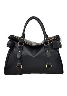 AWESOME Black Bow Silk Lining Leather Tote Bag #Classic #Leather #Tote #Bag