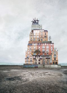 Surreal Houses by Matthias Jung http://designwrld.com/surreal-homes-by-matthias-jung/