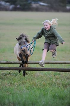 learning to jump by following her lead