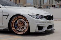 Alpine White BMW M4 Redesign