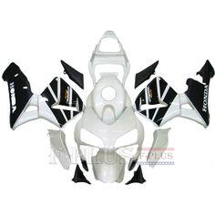 Aftermarket Fairings For Honda CBR600RR 03-04 White Black ABS Kits 2003 2004