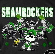 Snoopy St. Patrick's Day
