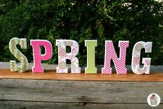 Spring Craft: DIY Home Decor