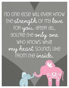 Baby Quote - Child Quote - Mother Quote by carrie
