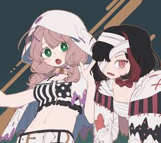 Tomoe, Anime Girl Drawings, Cute Drawings, Character Art, Character Design, Banana Art, Goth Art, Cute Anime Couples, Art Girl