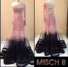 Sheer-fection gown by MischB Couture