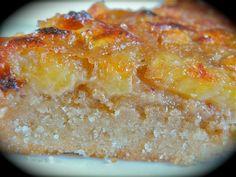 Tarte gourmande à la banane & cannelle, avec sa frangipane - Chaudron Pastel de Mély