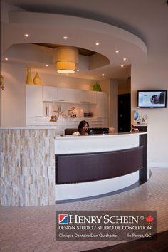 Home Office:Stone On Reception Desk   Dental Office   Pinterest   Reception…