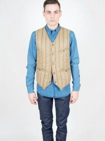 Rocky Mountain Featherbed Six Month Vest Dark Tan