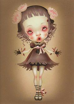 63 Art Bizarre, Creepy Art, Weird Art, Mark Ryden, Art Et Illustration, Illustrations, Art Sinistre, Art Amour, Pop Art