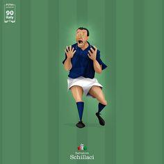 "Proj. FUT 90 -- ITALY 90 by Thiago ""Ramon"" Grizilli, via Behance"