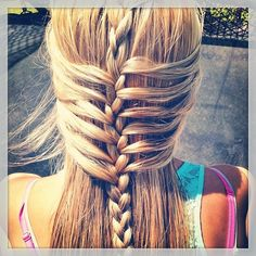 braid, hair braid, hairstyle
