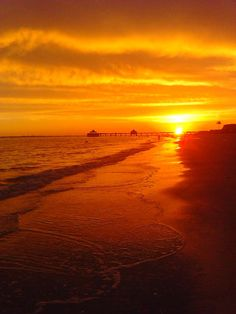Fort Myers Beach sunset - 6/13/2013