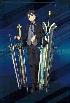 Sao Anime, Chica Anime Manga, Kawaii Anime, Anime Guys, Fanarts Anime, Anime Characters, Schwertkunst Online, Character Art, Character Design