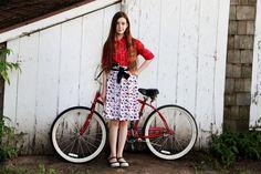 Kenna & Lulu: An Evening Bicycle Venture