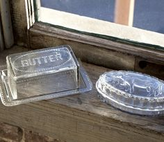 Cow Butter Dish | Glass Butter Dish With Lid