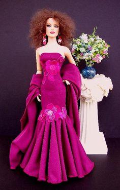 Barbie Gowns, Barbie Dress, Barbie Clothes, Barbie Doll, Dolls Dolls, Dress Outfits, Doll Outfits, Fashion Outfits, Dresses
