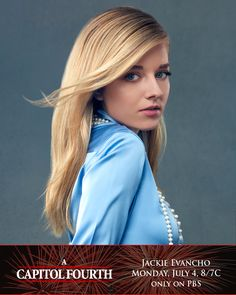 We are excited to welcome musical prodigy and classical crossover star Jackie Evancho back to the A Capitol Fourth stage! http://to.pbs.org/1V947mv ‪#‎July4thPBS‬ #JackieEvancho
