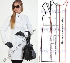 Женское полупальто Poncho Pattern Sewing, Jacket Pattern, Pattern Drafting, Sewing Coat, Sewing Clothes, Diy Clothes, Coat Patterns, Clothing Patterns, Dress Patterns