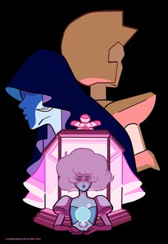Blue and Yellow don't care, they never have. This is Pink Diamond's colony.
