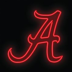 These authentic Alabama Crimson Tide Neon Signs are the glowing centerpiece of…