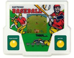 Tiger Electronics handheld games!!