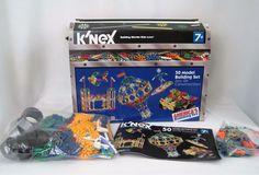 KNex 50 Model Building Set 700 Pieces K Nex Toy Build Kids Complete w Booklet #KNEX