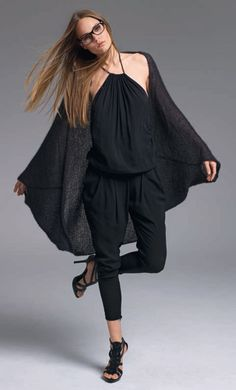 Lana Grossa Cape SILKHAIR - FILATI No. 38 (Winter 2009/10) - Modell 22 | FILATI.cc WebShop