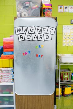 Our Amore Blog: Teacher Tip Tuesday: Magnet Board