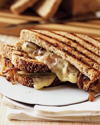 Grilled Gruyere and Spanish Sweet Onion Sandwiches