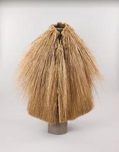 Korean straw raincoat, 1990s. (Jeju National Museum,  South Korea)