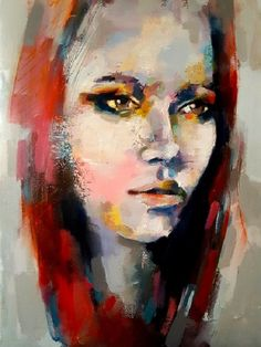 Thomas Donaldson - Head study with red hair