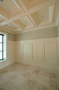 A classic ceiling molding design idea. : A classic ceiling molding design idea. Ceiling Decor, Ceiling Design, Plafond Design, Classic Ceiling, Ceiling Panels, Molding Ceiling, Cove Molding, Ceiling Detail, Moldings And Trim
