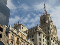 Edificio Telefónica, Gran Vía. Madrid by voces, via Flickr