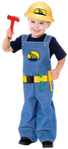Construction Worker Kids Costume   eBay