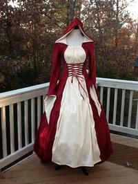 Little red riding hood costume, anyone? Would make for a fun photo shoot...