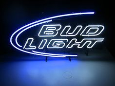Nib bud #light #iconic beer neon sign budweiser pub man cave bar #brewery keg par,  View more on the LINK: http://www.zeppy.io/product/gb/2/201279634934/