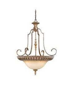 Från Quality Discount Lighting · Vaxcel Lighting KB PDU280 TZ Four Light  Hanging Pendant Chandelier In Tuscan Bronze Finish |